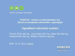 FER,  12.12 . 2013, Zagreb