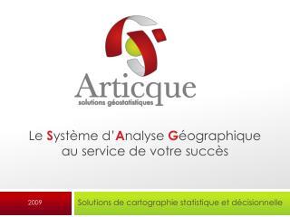 Solutions de cartographie statistique et décisionnelle