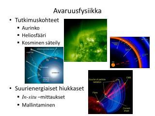 Avaruusfysiikka