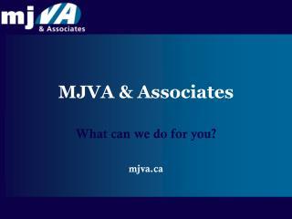 MJVA & Associates