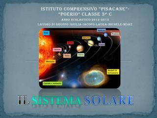 """ISTITUTO COMPRENSIVO """"PISACANE""""- """"POERIO"""" CLASSE 3^ C ANNO SCOLASTICO 2012-2013"""