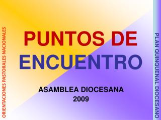 PUNTOS DE  ENCUENTRO