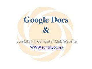 Google Docs &