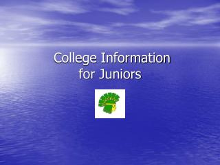 College Information for Juniors