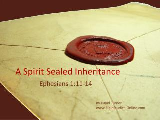 A Spirit Sealed Inheritance