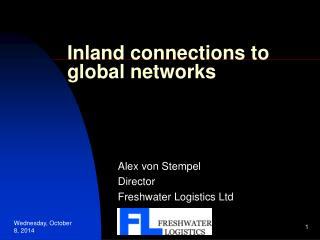 Inland connections to global networks