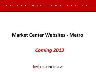 Market Center Websites - Metro