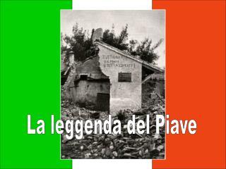 La leggenda del Piave