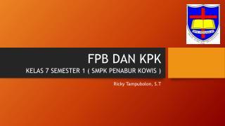 FPB DAN KPK