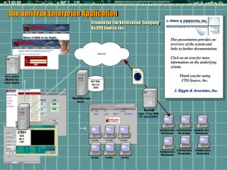 The VeriTrak Enterprise Application