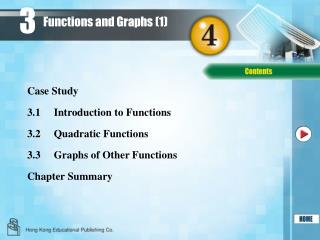 Functions and Graphs (1)