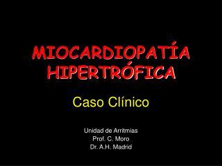 MIOCARDIOPAT A HIPERTR FICA