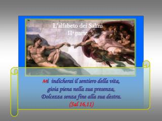 L�alfabeto dei Salmi II a  parte