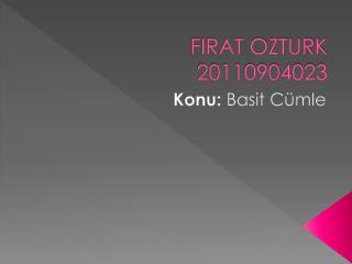 FIRAT OZTURK 20110904023