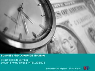 BUSINESS AND LANGUAGE TRAINING