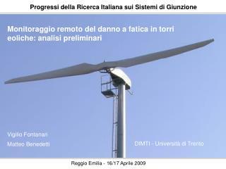 Progressi della Ricerca Italiana sui Sistemi di Giunzione