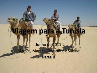Viagem para a Tunísia