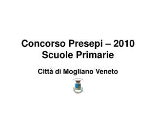 Concorso Presepi – 2010 Scuole Primarie