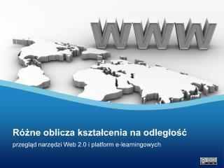 przegląd narzędzi Web 2.0 i platform e-learningowych