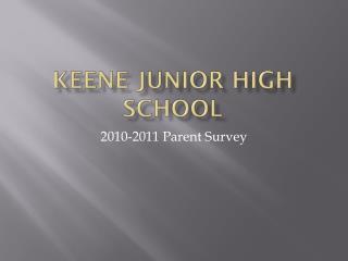 Keene Junior high School
