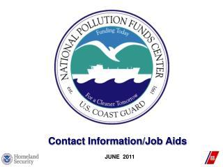 Contact Information/Job Aids