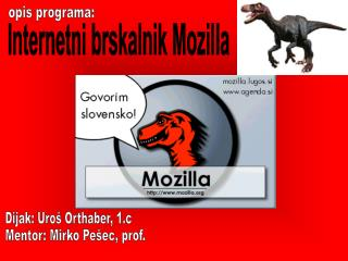 Internetni brskalnik Mozilla