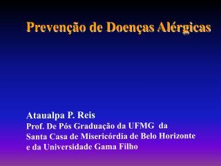 Prevenção de Doenças Alérgicas