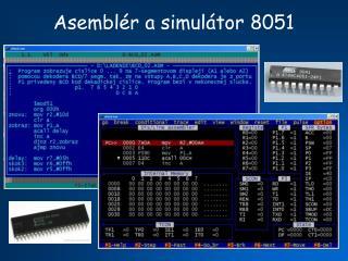 Asemblér a simulátor 8051
