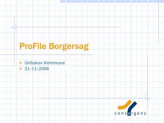 ProFile Borgersag