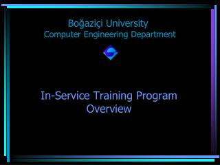 In-Service Training Program Overview