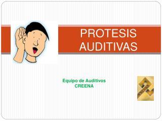PROTESIS AUDITIVAS