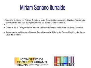 Miriam Soriano Iturralde