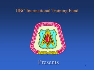 UBC International Training Fund