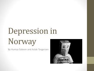 Depression in  Norway