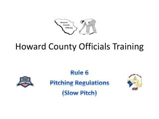 Howard County Officials Training