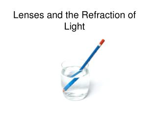 Lenses and the Refraction of Light