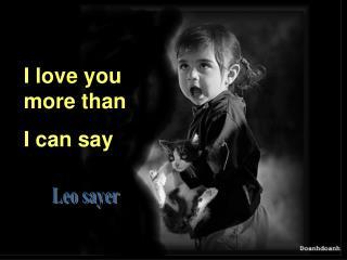 Leo sayer