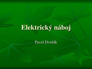 Elektrický náboj