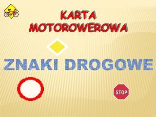 KARTA  MOTOROWEROWA
