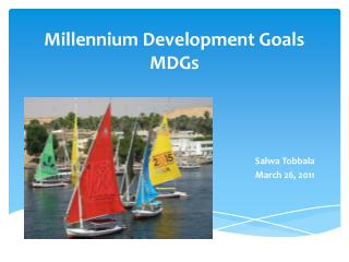 Millennium Development Goals MDGs