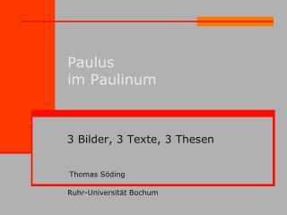 Paulus im Paulinum