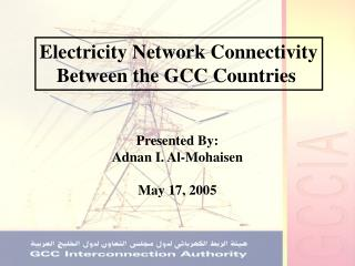 Electricity Network Connectivity Between the GCC Countries
