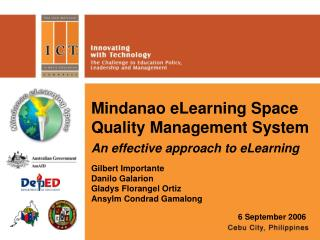 Mindanao eLearning Space Quality Management System
