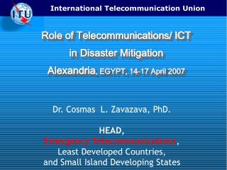 Role of Telecommunications