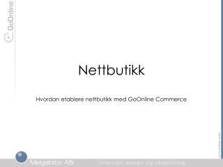 Nettbutikk