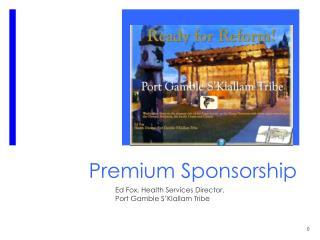 Premium Sponsorship