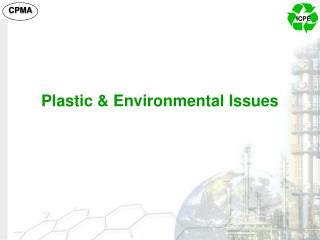 Plastic & Environmental Issues