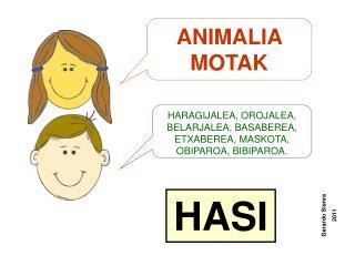 ANIMALIA MOTAK