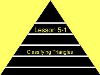 Lesson 5-1