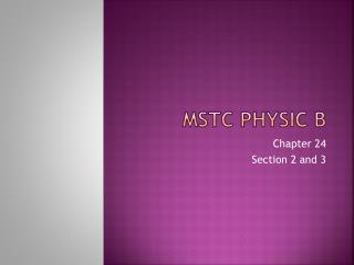 MSTC Physic B